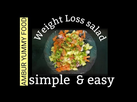 #healthy-vegetables-salad-/-vegetable-salad-for-weight-loss-/-simple-and-easy-method