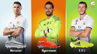 Real Madrid Football Boots 2017 - 2018 ⚽ Real Madrid Boots LineUp ⚽ Footchampion