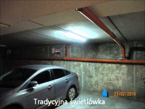 Oświetlenie Led W Garażach Podziemnych Zmiana Z świetlówek Rtęciowych