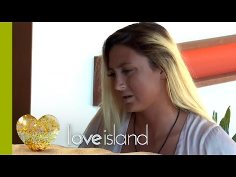 Liana FUMES At Adam For Saying He Would Sleep With Her Then Ditch Her | Love Island 2016