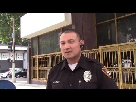 1st Amendment Audit, Los Angeles South Korean Consulate
