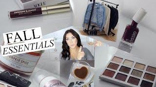 Fall Essentials 2017 Lifestyle , Fashion & Beauty!