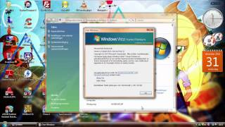 Windows Vista Home Premium with Service Pack 2 (Dutch) in VMware Workstation!