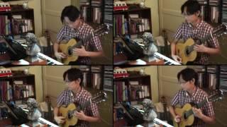 Alan Walker   |   Faded (Guitar Quartet Cover by Ken Foo)