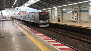 JR東E231系800番台東西線南行徳入線