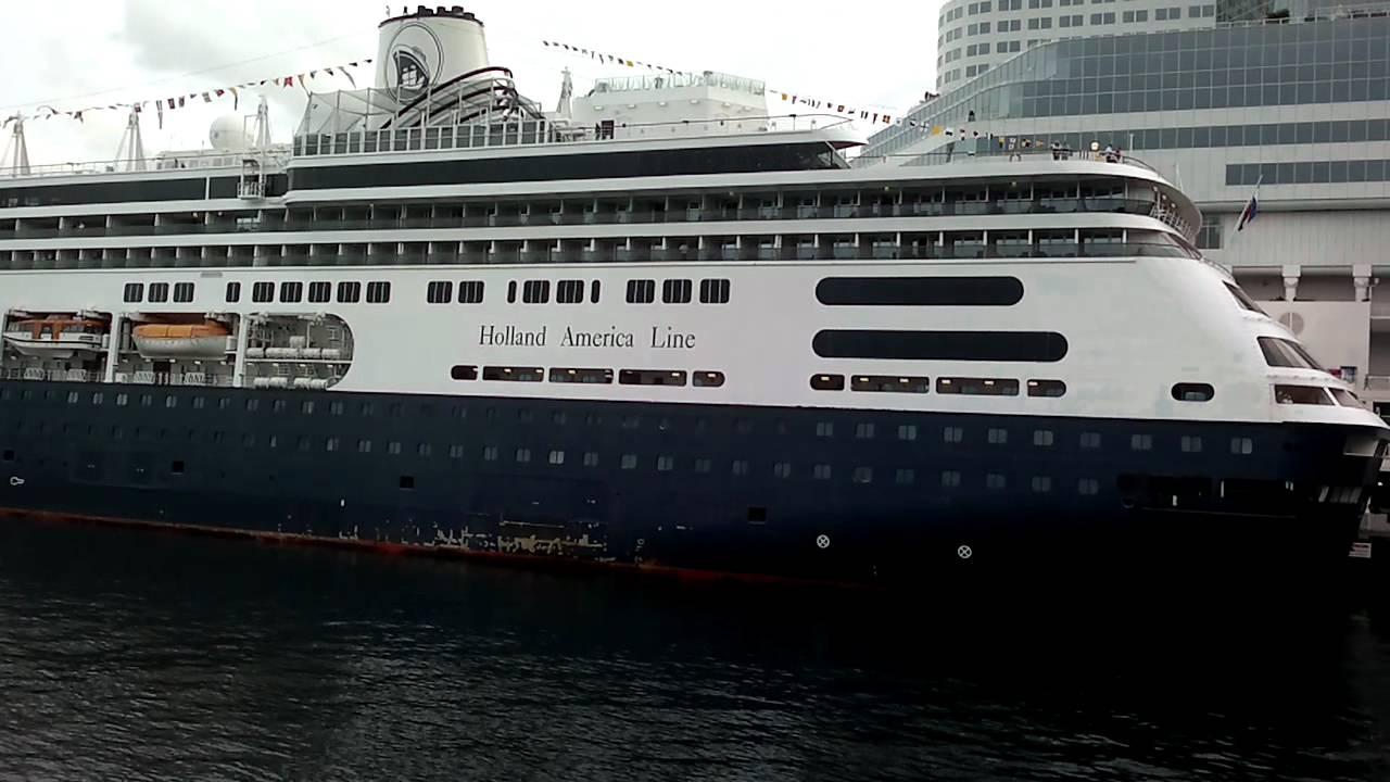 Zaandam Rotterdam Holland America Line Cruiseship Docked At Canada - Zaandam ship