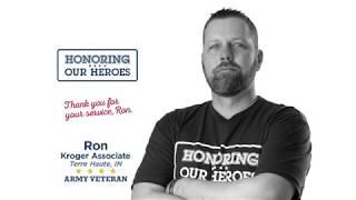 Honoring our Heroes Veteran Ron │VIDEO │Kroger