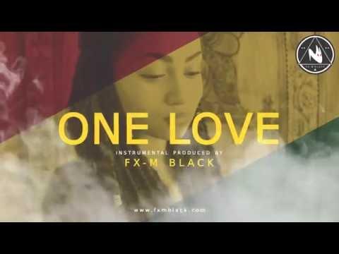 "BASE DE RAP - ""ONE LOVE"" - REGGAE RAP BEAT HIP HOP INSTRUMENTAL (Prod. Fx-M Black)"
