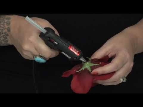 How to make pinup girl flower hair clips youtube how to make pinup girl flower hair clips mightylinksfo