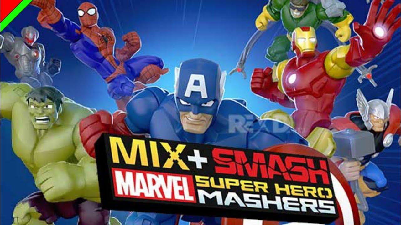 mix smash marvel
