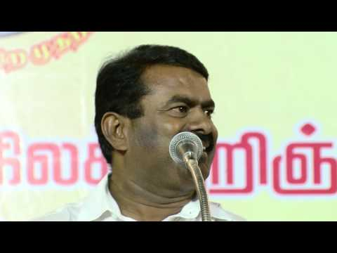 Naam Tamilar Seeman Teasing Vaiko, Vijayakanth & Spell Out His the Government Action Plans