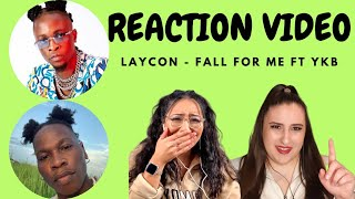 Just Vibes Reaction / Laycon - Fall for me ft YKB
