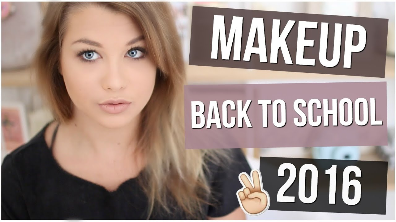 Extrêmement Tutoriel Maquillage n°35 ] : Makeup Back To School 2016 ! - YouTube LN08
