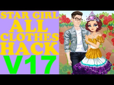 STAR GIRL ALL CLOTHES HACK V17/ВзломВсехВещей/所有的衣服哈克/すべての服は、ハック(APRIL & MAY ITEMS) 2018