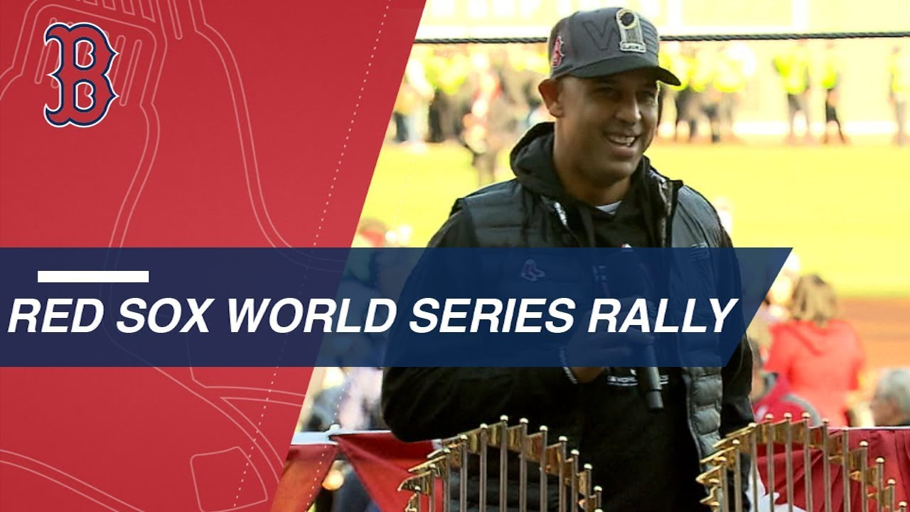 Red Sox celebrate 2018 World Series with Fenway rally