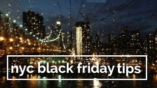 How to do Black Friday in New York City