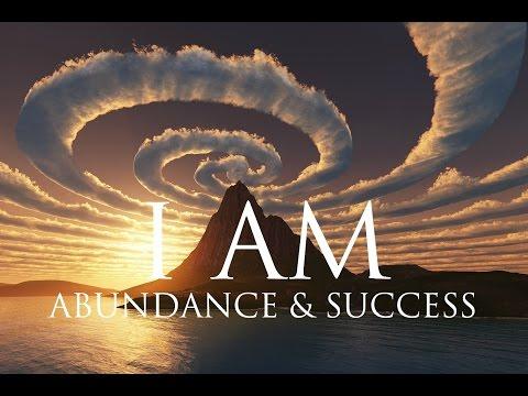 I AM Affirmations ➤ Spiritual Abundance & Success  Solfeggio 852 & 963 Hz ⚛ Stunning Nature s