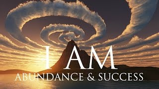I AM Affirmations ➤ Spiritual Abundance & Success | Solfeggio 852 & 963 Hz ⚛ Stunning Nature Scenes