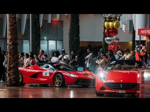 100 Ferrari Cars – Ferrari World Abu Dhabi | February 23, 2019