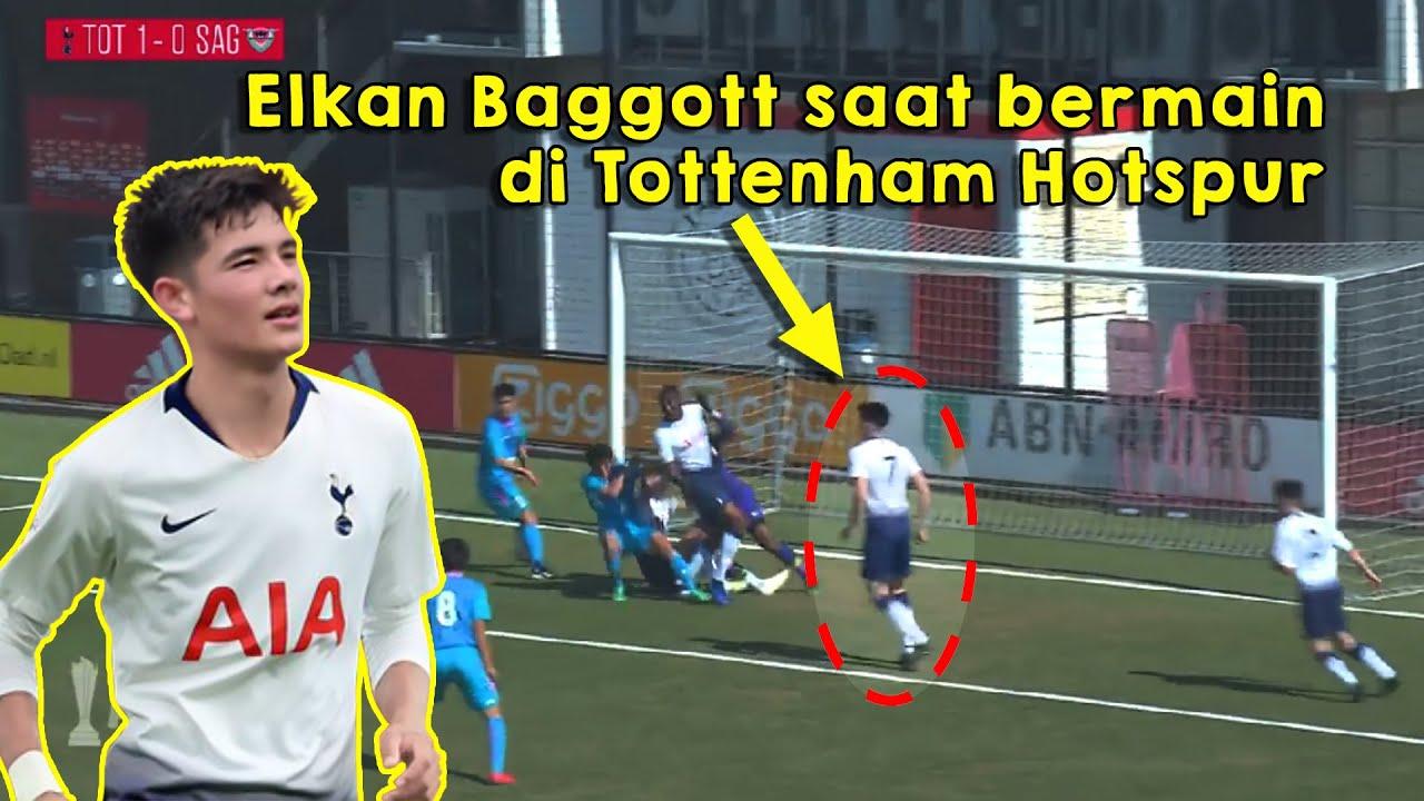 Ternyata, Elkan Baggot Pernah Main di Tottenham Hotspur!!!