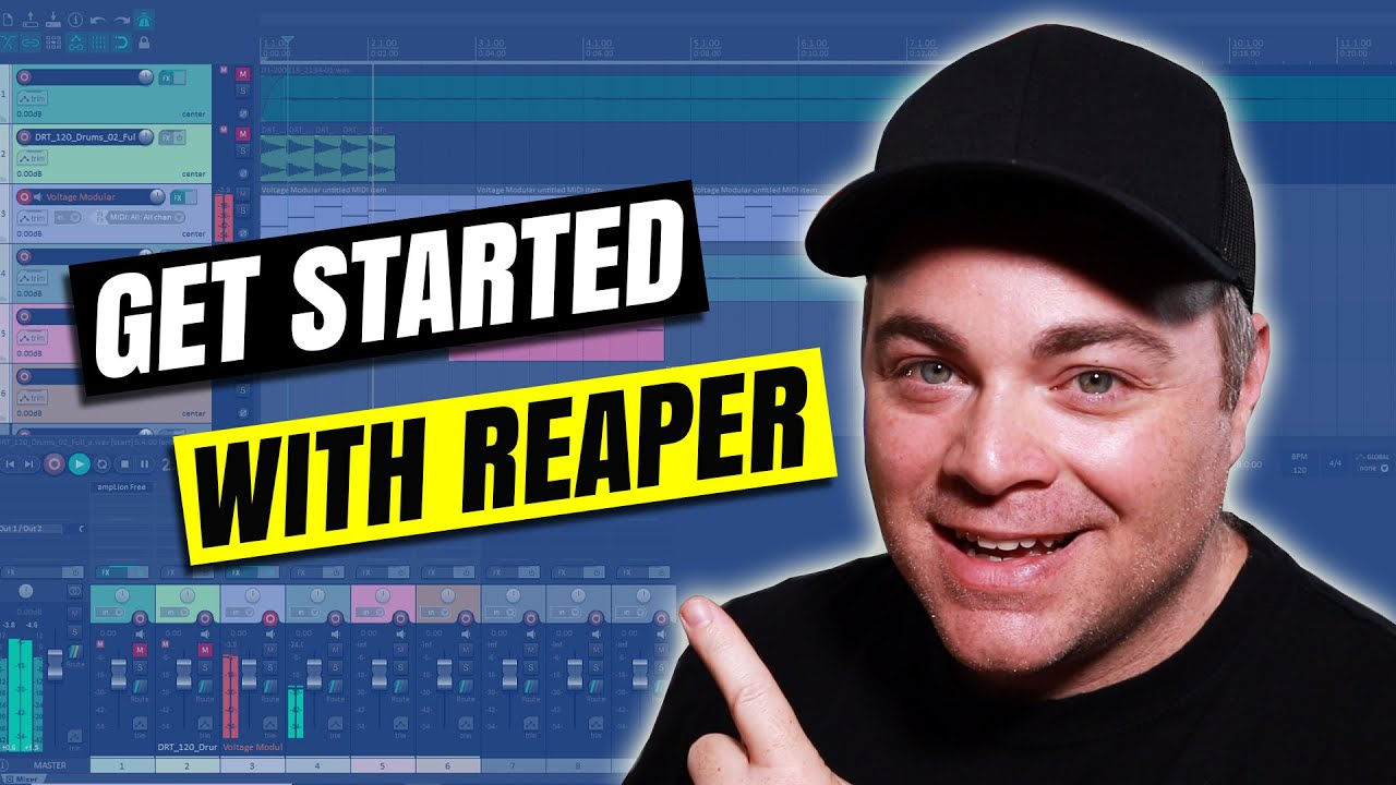 Download How To Use Reaper DAW Tutorial for Beginners on Windows 10