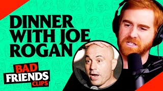 What Eating With Joe Rogan Is Really Like | Bad Friends Clips