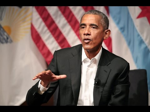 Watch Obama's first speech since leaving office