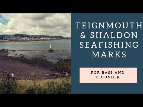 Teignmouth And Shaldon Sea Fishing Marks