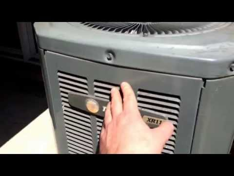 Getting your air conditioner ready for summer.