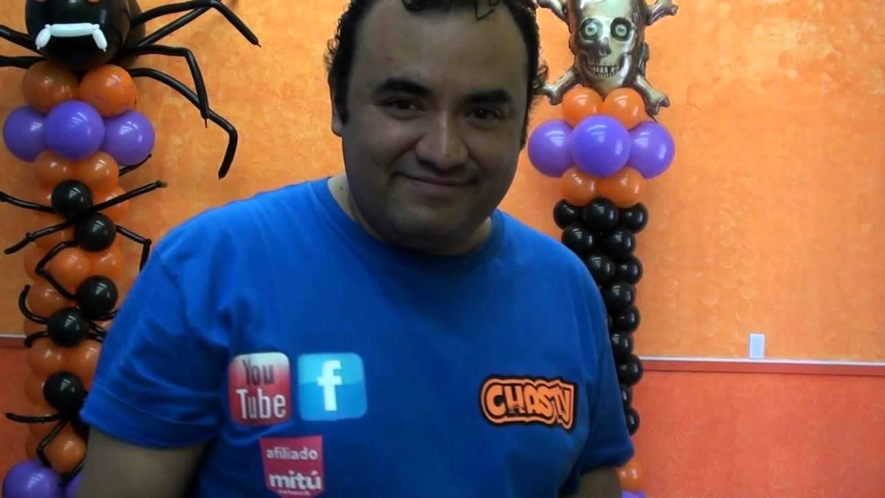 Columna con globos calaveritas decoracion halloween youtube for Decoracion hogar halloween
