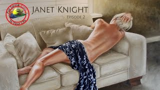 Oil painting techniques and tutorial with Janet Knight | Colour In Your Life