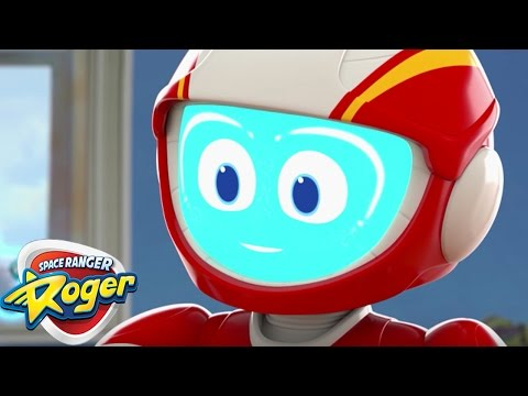 Space Ranger Roger   Roger's Shoe Business and Roger   HD Full Episode 1   Cartoons For Kids