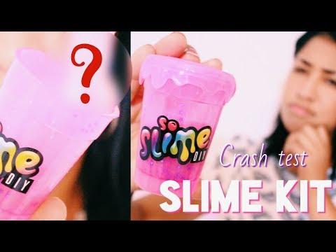 Crash Test l Faire du Slime avec seulement de l'Eau ! 🌙