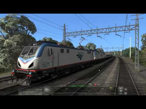 Amtrak ACS 64 New Haven To Pen Station