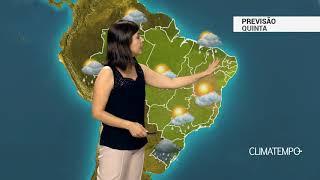 Previsão Brasil –  Situação de perigo para muita chuva no Sul