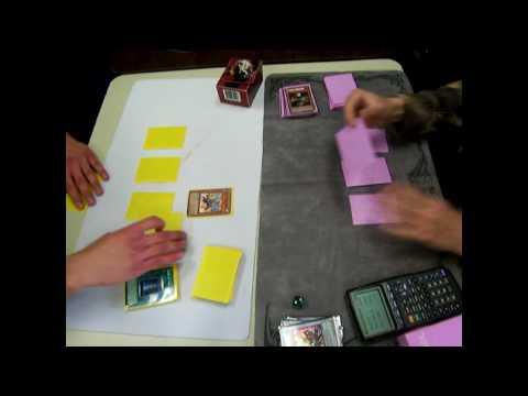 YuGiOh Hooman's Gladiator Beast Deck Vs Tk's X Saver Deck R1D1 Pt.2.wmv