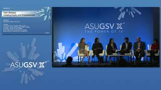2019 ASU GSV Summit: Tech Startups Creating Equity and Empowerment