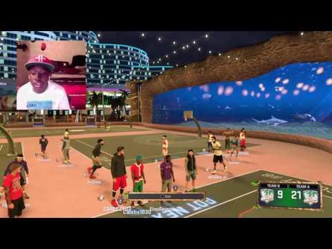 NBA 2K17 MyPark GRINDING FOR PRO 1 LIVE STREAM