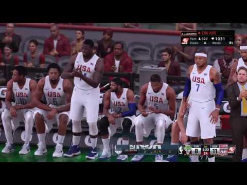 Summer 16 MyCareer Olympic Stream | OJ WAS A NBA GOD | NBA 2k16 MyLeague