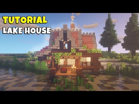 【Minecraft】 Medieval Lake House Tutorial │ Medieval Town #23