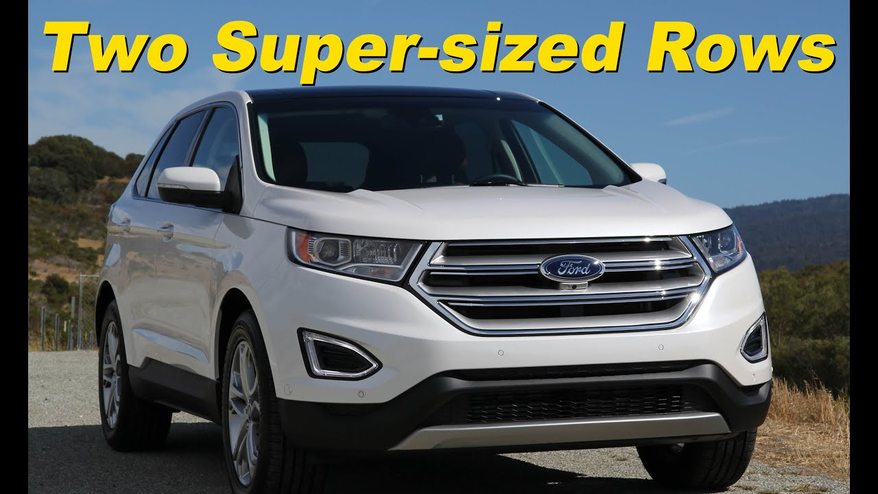 Ford Edge Ecoboost Titanium Review And Road Test Detailed In K