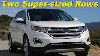 2015 Ford Edge Ecoboost Titanium Review and Road Test - Detailed in 4K