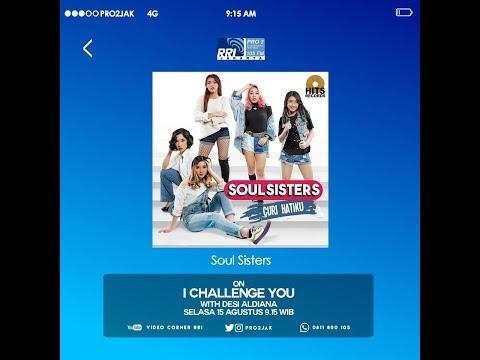 Soul Sisters  - ICU Pro2 FM RRI Jakarta (Live Video Corner RRI) Reupload