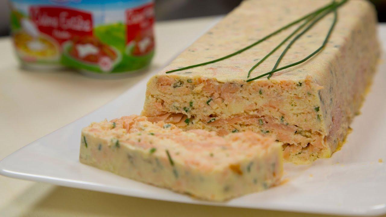 terrine aux deux saumons tres facile et tellement gourmande