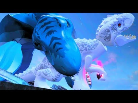 LEGO Jurassic World All Cut Scenes & Boss Fights HD 60FPS 1008p