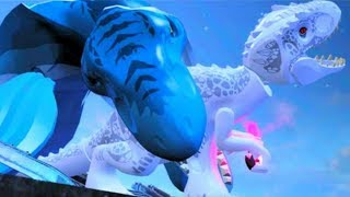LEGO Jurassic World All Cut Scenes & Bosses