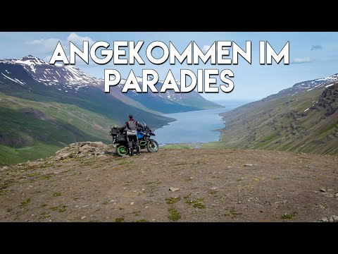 Island mit dem Motorrad Teil 2 (Gufufoss, Seyðisfjarðarvegur, Fardagafoss, Berunes HI Hostel)
