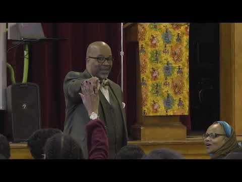 West Avenue School African American Read In 2020
