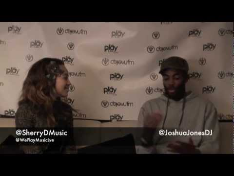 We Play Music  - Live - Interview with Sherry Davis