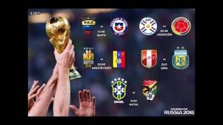 Fecha y Horarios de la Jornada  9 Eliminatorias de CONMBEOL | Rusia 2018